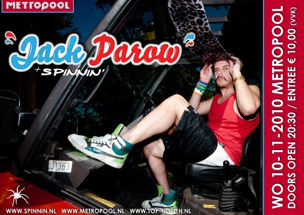 Jack Parow Flyer