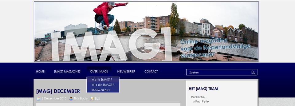 [MAG] website